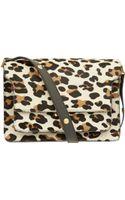Marni Leopard Print Ponyskin Bag - Lyst