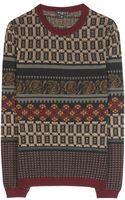 Etro Wool Sweater - Lyst