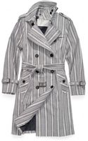 Coach Heritage Stripe Trench - Lyst