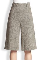 Akris Lightweight Tweed Culottes - Lyst