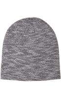 Forever 21 Marled Knit Beanie - Lyst