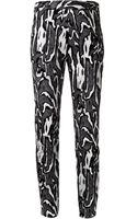 Proenza Schouler Flock Print Trousers - Lyst
