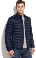 Tommy Hilfiger Quilted Down Packable Puffer Coat - Lyst