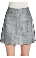 3.1 Phillip Lim Leather Aline Skirt - Lyst