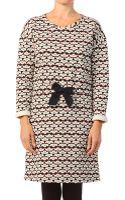Petit Bateau Knitwear Dress - Lyst