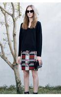 Hugo Boss Maluka  Virgin Wool Blend Skirt - Lyst