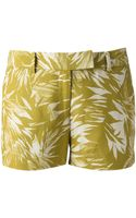 Jason Wu Palm Print Shorts - Lyst