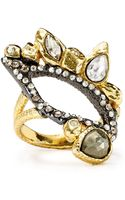 Alexis Bittar Pyrite Rocky Ring - Lyst