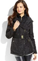 Jessica Simpson  Belted Soft Shell Jacket - Lyst