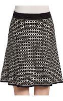 Max Studio Geo-print A-line Skirt - Lyst