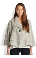 Eileen Fisher 34-sleeve A-line Jacket - Lyst