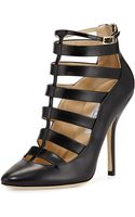 Jimmy Choo Freeze Strappy Cage Pump - Lyst
