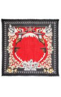 Givenchy Mermaid Wool Scarf - Lyst