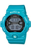 G-shock Babyg Womens Digital Runners Blue Resin Strap Watch 49x45mm 2 - Lyst
