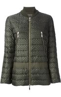 Moncler Gamme Rouge Brenda Feather Down Jacket - Lyst
