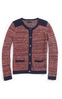 Tommy Hilfiger Sweater Jacket - Lyst