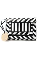 Pierre Hardy Striped Square Clutch - Lyst
