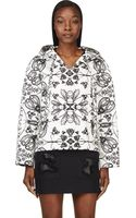 Alexander Wang Ivory Insect and Floral Print Pullover - Lyst