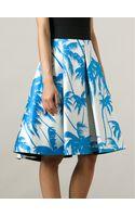 Fausto Puglisi Printed Pleated Skirt - Lyst