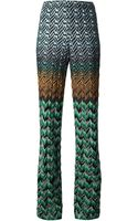 Missoni Zigzag Crochet Trousers - Lyst