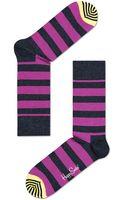 Happy Socks Stripe Crew Socks - Lyst