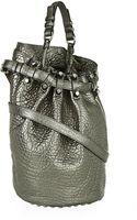 Alexander Wang Metallic Diego Bucket Bag - Lyst
