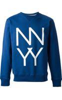 Saturdays Surf Nyc Printed Sweatshirt - Lyst