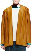 Derek Lam Calf Hair Barn Jacket - Lyst