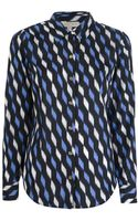 Michael by Michael Kors Printed Shirt - Lyst