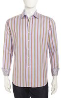 Robert Graham Longsleeve Striped Sport Shirt - Lyst