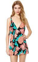 Nasty Gal Blossom Sequin Dress - Lyst