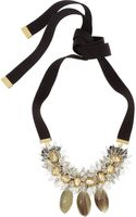 Marni Crystal and Horn Necklace - Lyst