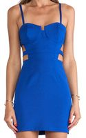 Naven Bustier Mini Dress - Lyst