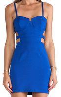 Naven Bustier Mini Dress - Lyst