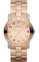 Marc By Marc Jacobs Womens Amy Rose Goldtone Stainless Steel Bracelet 37mm - Lyst