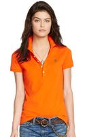 Polo Ralph Lauren Skinny Stretch Polo Shirt - Lyst