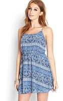 Forever 21 Paisley Print Cami Dress - Lyst
