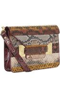 Sophie Hulme Mini Envelope Snake Bag - Lyst