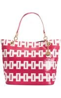 Tommy Hilfiger Th Signature Printed Large Canvas Tote - Lyst
