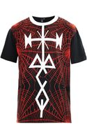 McQ by Alexander McQueen Tattoo and Spiderprint Tshirt - Lyst