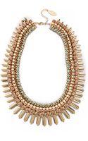 Adia Kibur Crystal Statement Necklace - Lyst