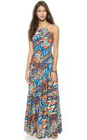 T-bags Maxi Dress - Multi - Lyst