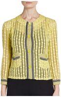 Etro Cropped Lace Jacket - Lyst