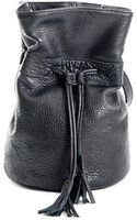 Meckela Gali Black Leather Shoulder Bag - Lyst