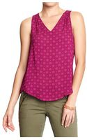Old Navy Printed Tank - Lyst