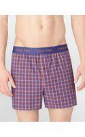 Calvin Klein Optical Stripe Slim Fit Boxers - Lyst