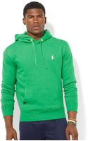 Polo Ralph Lauren Solid Fleece Hoodie - Lyst