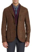 Harris Wharf Donegal Twobutton Sport Coat - Lyst