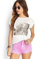 Forever 21 Sunglass Girl Graphic Tee - Lyst