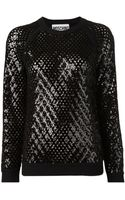 Moschino Oversized Sweatshirt - Lyst
